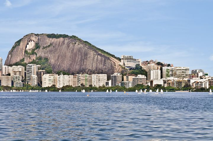 Lagoon , Rio de Janeiro - Fine Art Bruna
