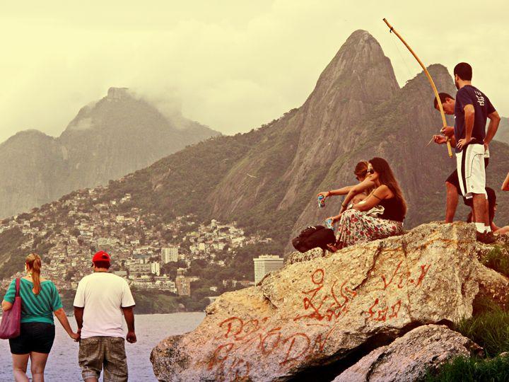 Ipanema Beach - Fine Art Bruna