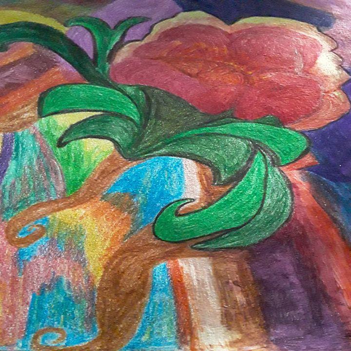 Abstract Flower - Just Jo.Art