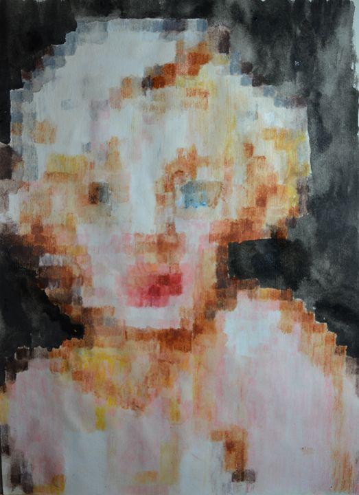 Marilyn - Sasha Kendrick Art