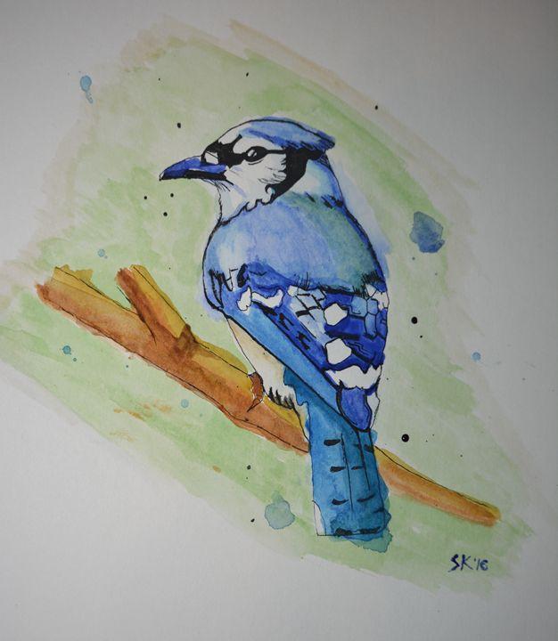 Blue Jay - Sasha Kendrick Art