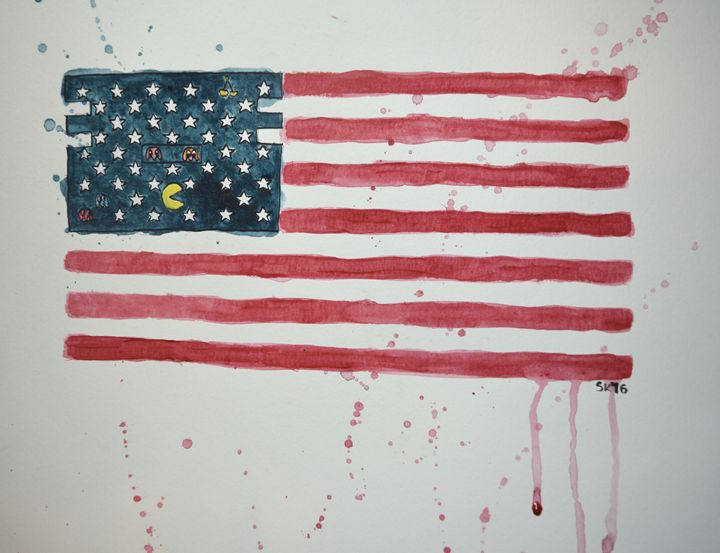 Land of the Free - Sasha Kendrick Art