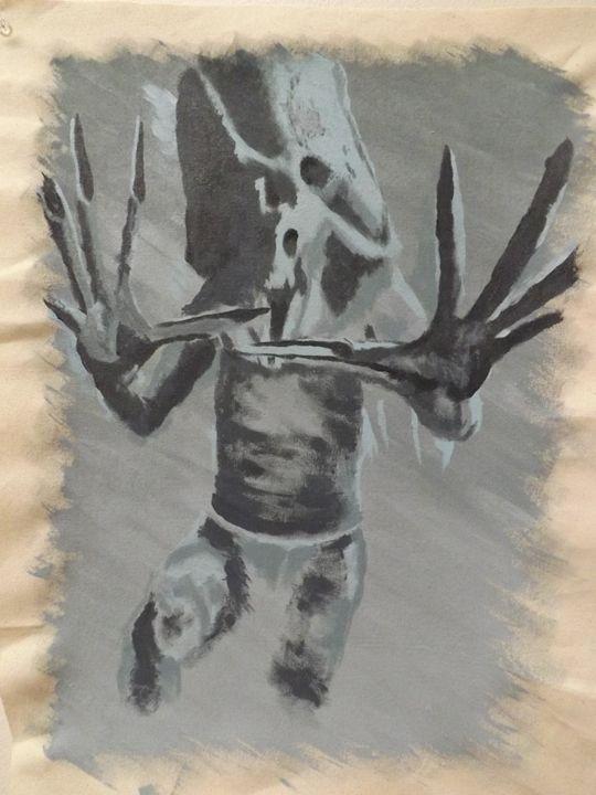 Mud Man - Sasha Kendrick Art