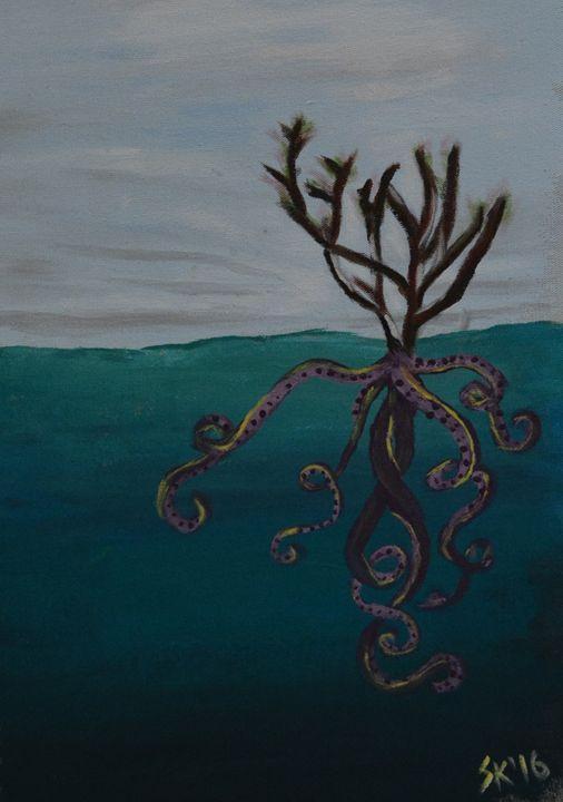 Beneath the Surface - Sasha Kendrick Art