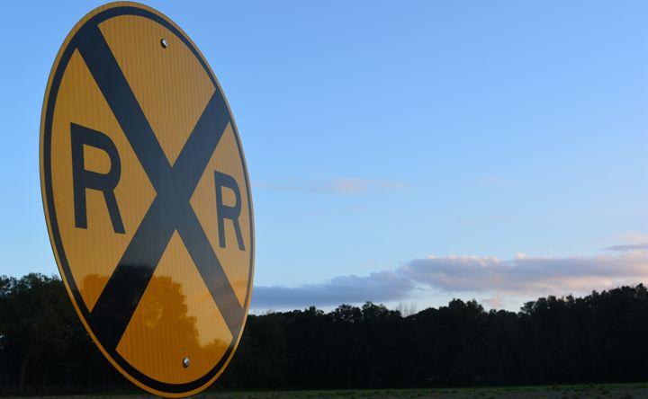 Railroad Crossing - Sasha Kendrick Art