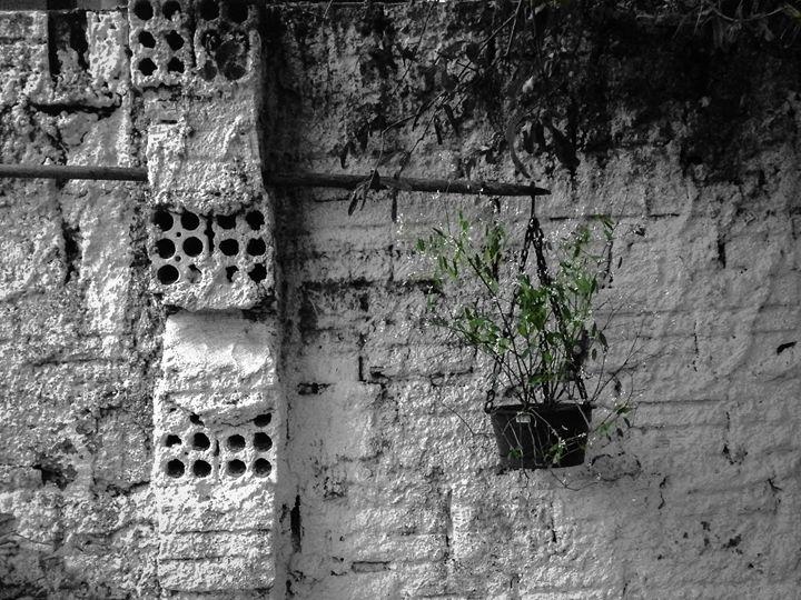 The Wall - Original art.