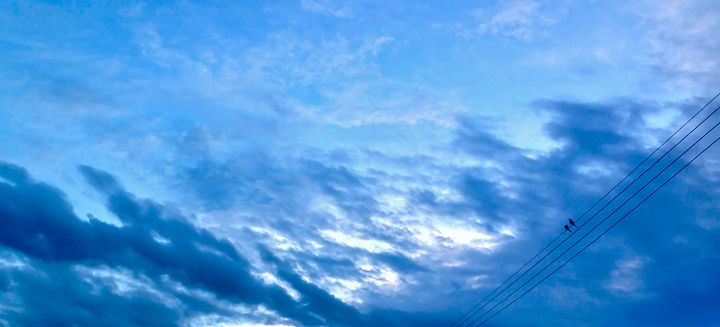 Natural Sky - Original art.