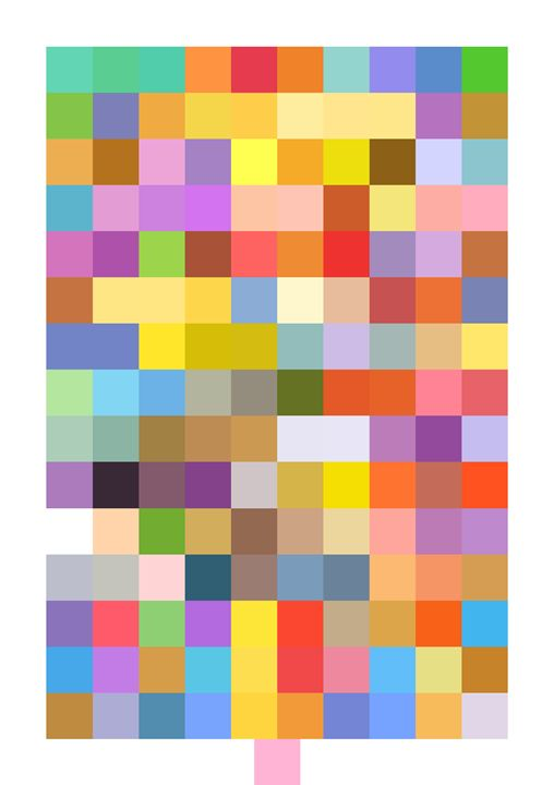 151 Pokécolors - Original art.
