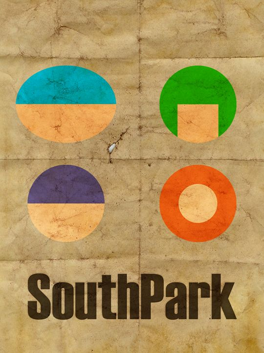South Park Poster - Original art.