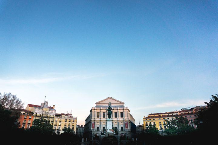 Plaza de Oriente - Original art.