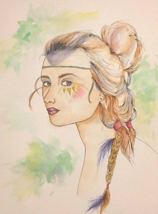Free Spirit - Bluu Art