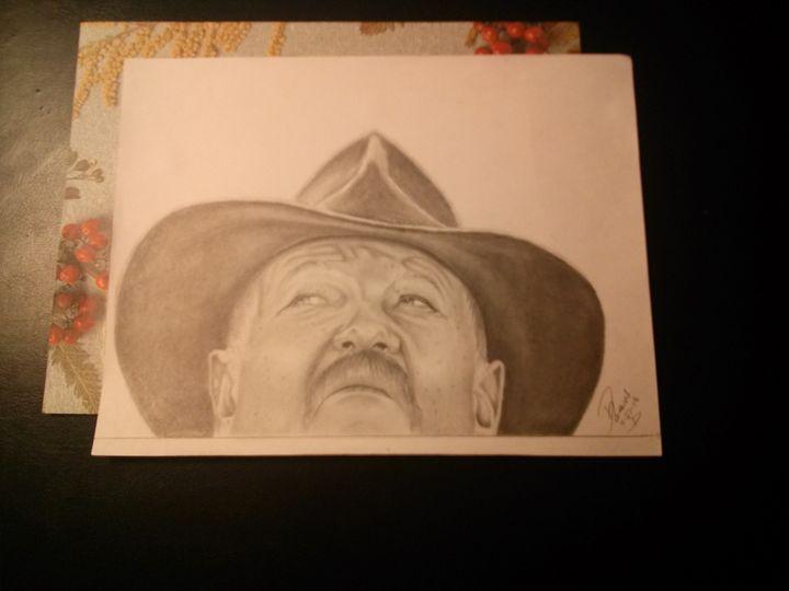 """Man of Worry"" - Visual Art"