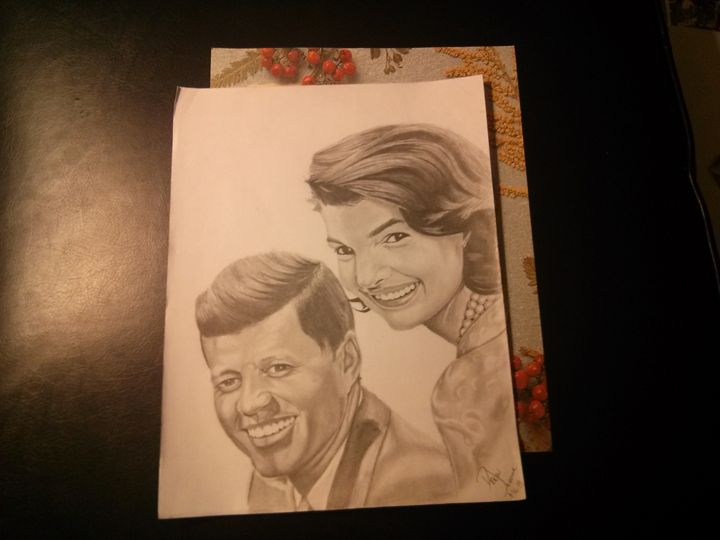 The 35th pres. and first lady - Visual Art