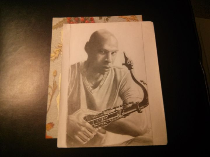 """The Sax Man"" - Visual Art"