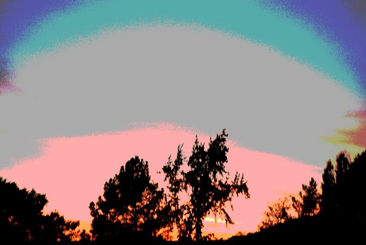 pop art sunset - Steven's gallery