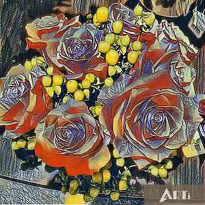 Arty roses