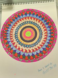 Mandala or Rangoli design