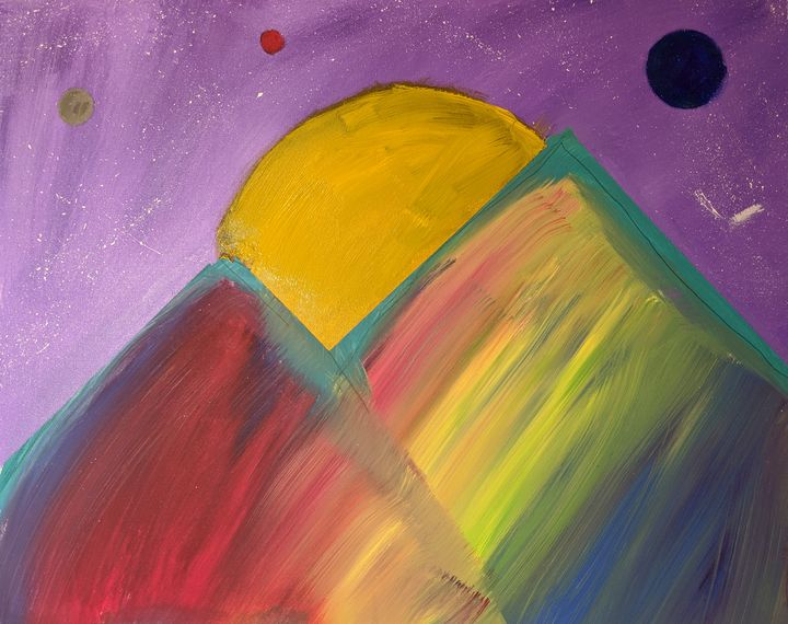 Mountain of Change - Ember Mikayla Art