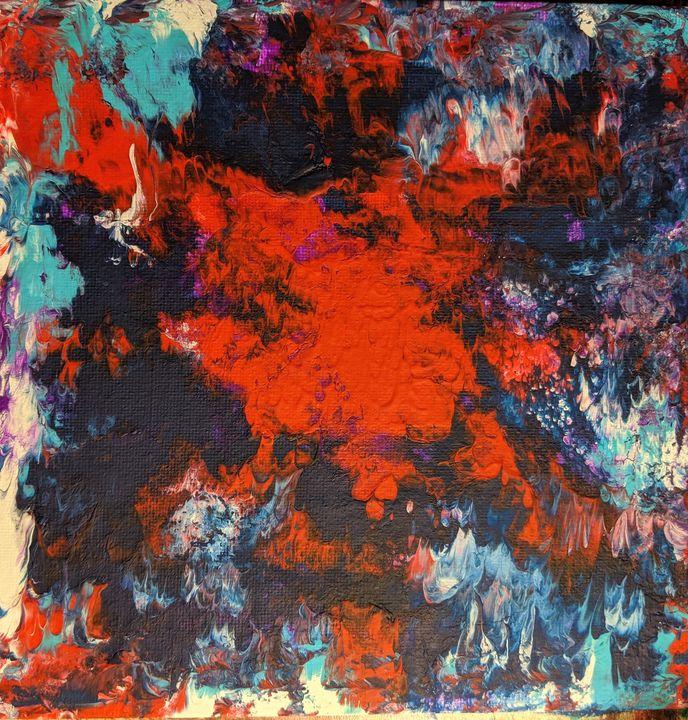 Devil Within - Ember Mikayla Art