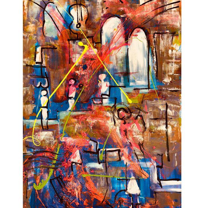 universal flows - Arietta's paintings