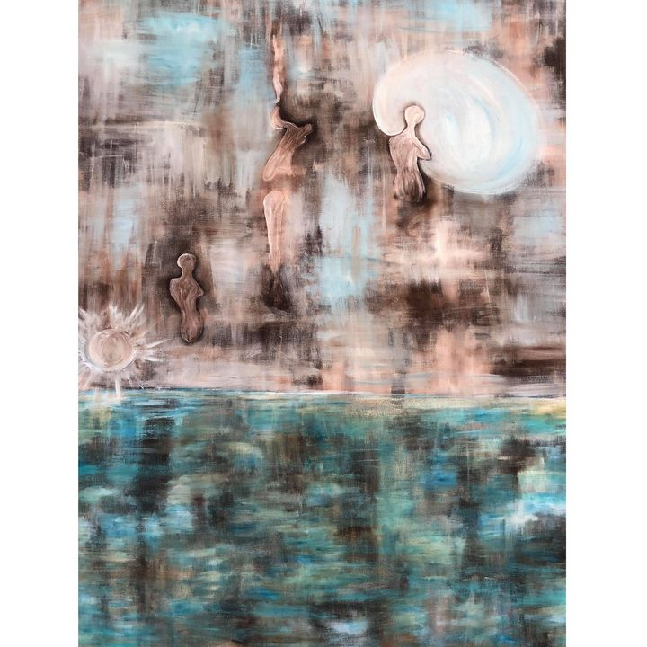 devine light - Arietta's paintings