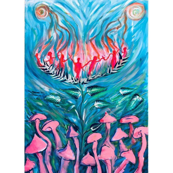 nature flow - Arietta's paintings