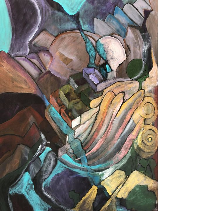 tsakras energy flow - Arietta's paintings