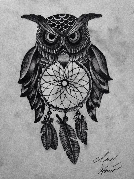 Owl -  Ianhaines