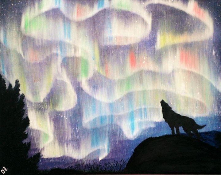 The Northern Lights Dance - Olga Zavgorodnya