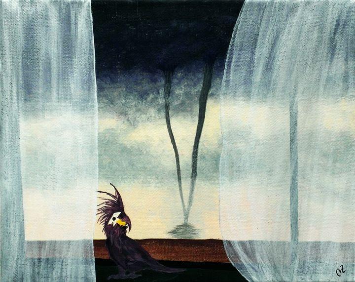 Tornado Outside Window - Olga Zavgorodnya