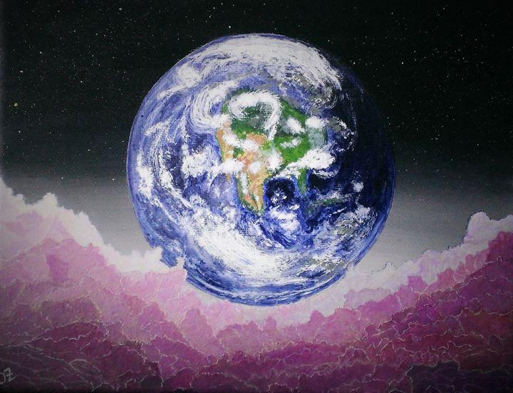 View from Moon - Olga Zavgorodnya
