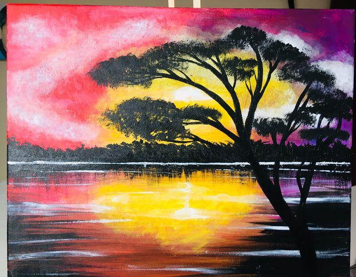 South African sunset - Barbara Short-Pardo