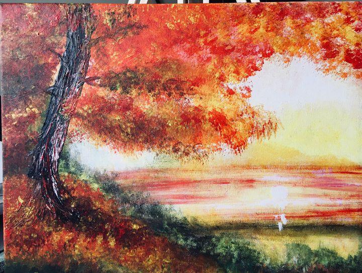 Autumn sunrise - Barbara Short-Pardo