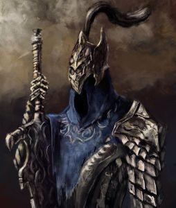 Knight Artorias - obojenavena