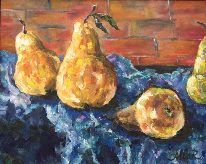Pears - Art by Alla Reznik