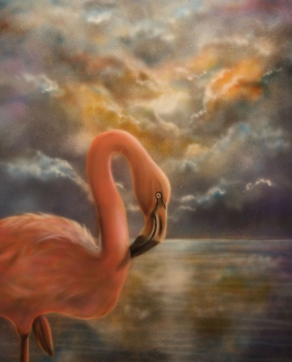 Flamingo-Dingo - Airbrush, Photography & Drawing Artistry