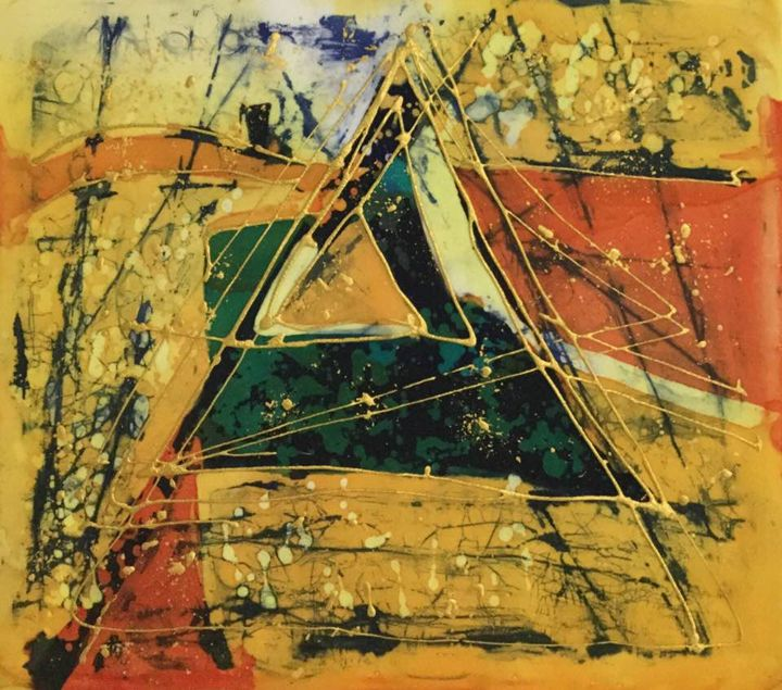 Abstract triangle - Valentina