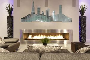 City Skyline - Chicago - ASK Modern Art