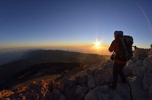 pico del teide - sunrise