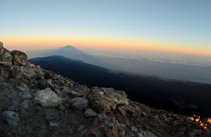 shadow of the teide
