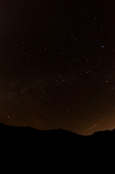 pico del teide at night - Fjord and Rust