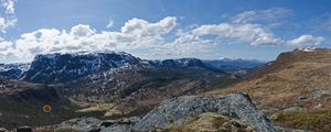 norwegian fjell - mountains