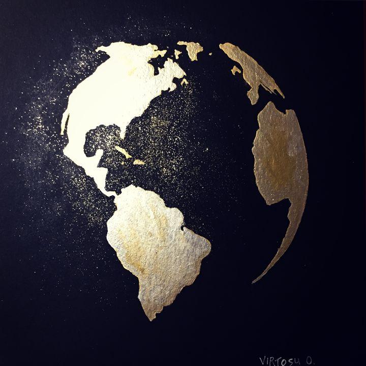 World Globe - DDD