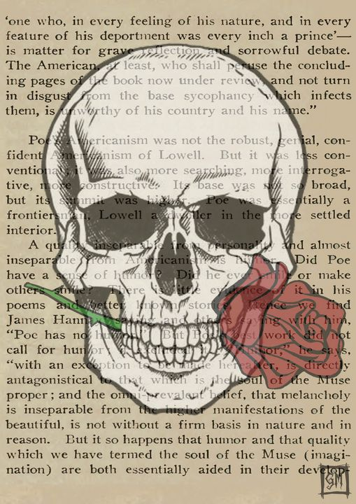 Romance is dead - Skulls and pieces