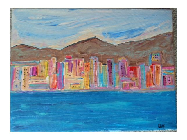 San Diego Harbor - Cliff's Desoteric Art