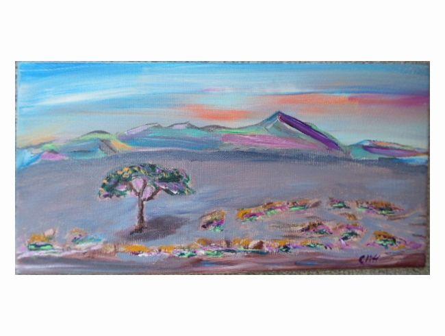 Desoteric Landscape - Cliff's Desoteric Art