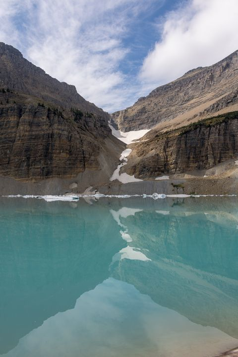 Reflections of a Glacial Lake - Carver Buis