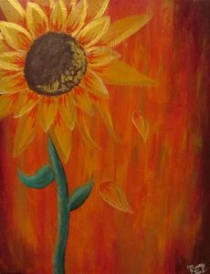 The Golden Sunflower