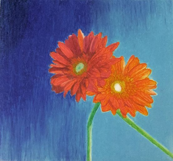 The Red and Orange Flowers - Sheren