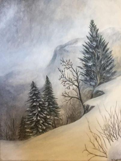 The Snowy winter - Sheren